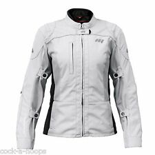 Hein Gericke Gray/Black AIR IV Coldblack Women's Motorcycle Jacket NEW Size 12
