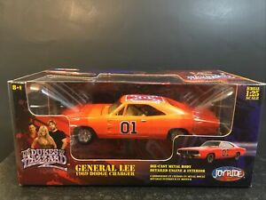 Joyride 1:25 Scale The Duke's Of Hazzard General Lee 69' Dodge Charger Echelle