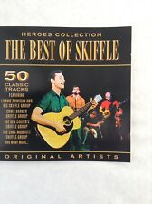 THE BEST OF SKIFFLE  2CD  50 tracks by Lonnie Donegan, Vipers, Alexis Korner etc