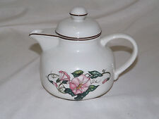 Villeroy Boch PALERMO Pink Morning Glory Individual Teapot - multiples available