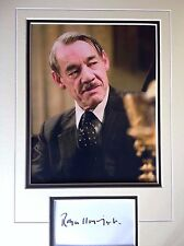 ROGER LLOYD PACK - HARRY POTTER ACTOR - SUPERB SIGNED COLOUR PHOTO DISPLAY
