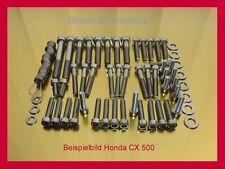 Honda CX500 PC01 V2A Edelstahlschrauben Schraubensatz Motorschrauben-Kit CX 500