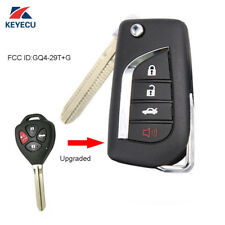 Upgraded Folding Remote Key Fob for Toyota Corolla Venza 2009-2015 GQ4-29T + G