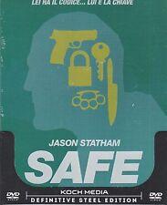 Dvd SteelBook **SAFE** con Jason Statham nuovo 2011