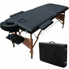 Professional Portable Comfort Massage Table with Carrying Case