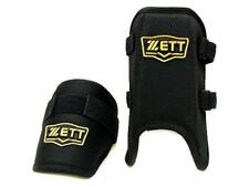 Zett Pro Adjustable Batter Guard Set Black