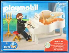 PLAYMOBIL 4309-piano giocatori-pianista - 2 melodie - 2007-NUOVO & OVP-MISB