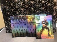 2019-20 Panini Illusions Basketball (9) Bam Adebayo Lot #112 Miami Heat