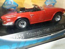 Solido Druckguss 1855 Triumph TR6 Cbriolet 1969 Rot 1 43 (124)