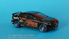 2014 Hot Wheels Loose Mitsubishi Lancer Evolution 2008 Black Combine Shipping