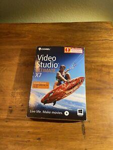 COREL Video Studio Ultimate X7  64-Bit Special FX Pack. Make Movies!