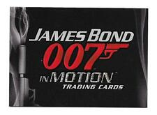 2008 James Bond In Motion Trading Cards Promo Card