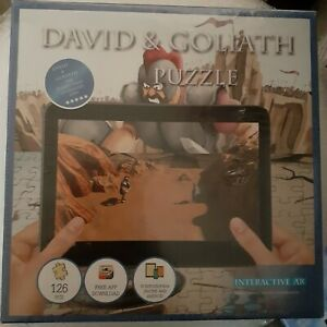 Interactive AR David and Goliath Augmented Reality Puzzle - 3D - Free Shipping!!