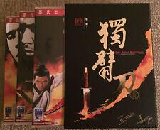 ONE-ARMED SWORDSMAN Trilogy 3 DVD SET WANG YU David Chiang RARE R3 SHAW BROTHERS