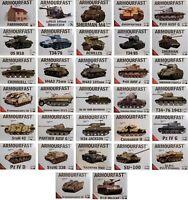 Armourfast 1/72 Military New Plastic Model Kit 1 72