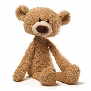 """Toothpick Teddy Bear Stuffed Animal Soft Plush, Beige, 15"""" - Fast Delivery"""