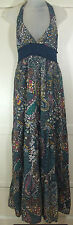 Jane Norman Multi Sequin Maxi   Cotton Dress UK 14