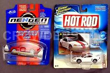 Johnny Lightning Hot Rod Magazine 00 Mustang & NexGen Muscle '08 Shelby GT-500KR