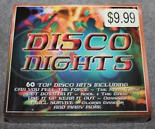 DISCO NIGHTS TIME MUSIC CD 3 VOLUME SET 60 HITS FACTORY SEALED