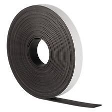 SELF ADHESIVE MAGNETIC TAPE STRIP FLEXIBLE FRIDGE/CRAFT STRONG -12.7mm x 1 Metre