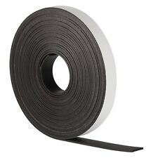 SELF ADHESIVE MAGNETIC TAPE STRIP FLEXIBLE FRIDGE/CRAFT 1m x 12mm *VERY STRONG*