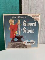 Sawyers 1963 View-Master Reel , Walt Disney,Sword in the Stone  B 316