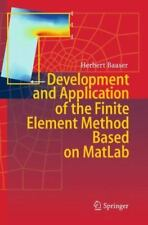 Development and Application of the Finite Element Method Based on MatLab by...