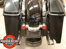 HARLEY STRETCHED CVO STYLE ABS SADDLEBAGS 93-13 TOURING FLHX ULTRA ROADGLIDE