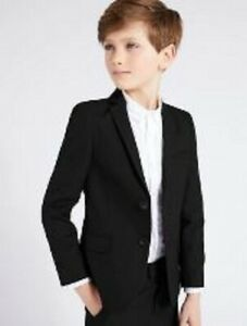 Boys suit jacket M & S  age 8 9 10 11 12 13 14 years navy RRP £34+