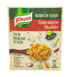 10x Knorr Fix 100% natural 🍴 Gebratene Nudeln fried noodles spice mix TRACKED ✈