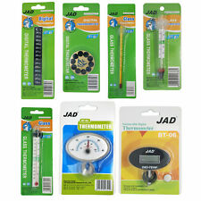 Aquarium Fish Tank Temperature Thermometers Digital & Analogue Stick On °C & °F