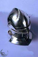Medieval Knight Armor Closed Helmet Halloween Costume Replica Reenactment
