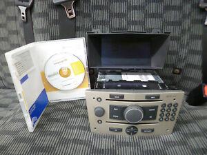 VAUXHALL ASTRA H ZAFIRA CD70 NAVI SAT NAV STEREO CD PLAYER WITH SCREEN & DISC