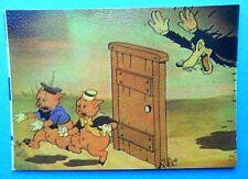 lampo figurines vignettes cards figurine walt disney story 38 i tre 3 porcellini