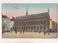 Kortrijk Stadhuis Belgium Vintage Postcard 356b