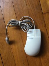 Microsoft 58296 2-Button Trackball PS/2 Mouse * Port Compatible 2.0A Vintage
