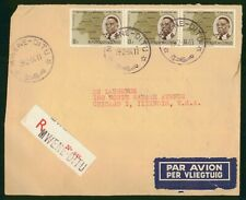 Mayfairstamps Congo 1964 Mwene-Ditu to Chicago IL Registered Airmail Cover wwr27