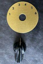 VINTAGE RARE-Orig GIBSON VARITONE Switchplate & KNOB-NEW & NEVER USED!!!