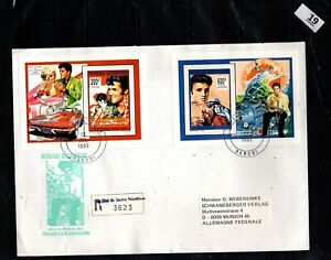 / CENTRAL AFRICAN REP 1993 - R-FDC - ELVIS PRESLEY, MUSIC