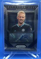 2020-21 Prizm Premier League Kasper Schmeichel Signatures Auto Leicester City