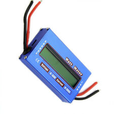 Digital DC combo Meter LCD Watt Power Volt Amp RC Battery charging Analyzer S