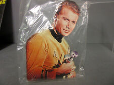 New Star Trek Captain Kirk With Gun Clear Cut Acrylic Magnet
