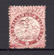 Tasmania: Postal Fisical 2/6 Sg F 13 Perf 12