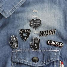 6PCS/Set Punk Enamel Brooch Pin Gift Shirt Collar Lapel Corsage Pin Jewelry