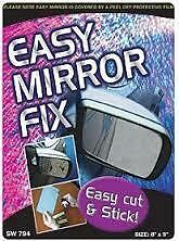 Espejo De Puerta Reemplazo de vidrio cortado a la medida (25 cm X 18 Cm) 16mc