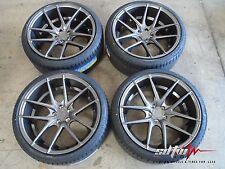 "17"" Niche Targa M129 Anthracite Wheels w/ Tires fits Scion XB TC"