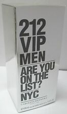 Carolina Herrera 212 VIP MEN Homme EDT 100ml Eau de Toilette NEUF & Authentique