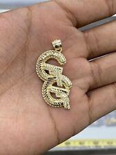 10KT Yellow Gold Men's G G  Pendant Diamond Cut, Brand New, 10KT, Gun Pendant