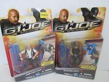 GI Joe Retaliation 2012 Joe Colton & Roadblock Lot Sealed MOC Hasbro BZ309