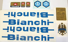 Bianchi Early 80s Piaggio decal set #2 for Campagnolo